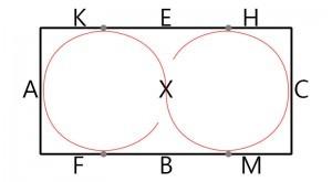 Hufschlagfigur Aus dem Zirkel Wechseln