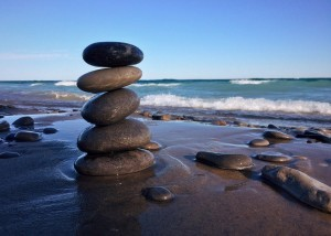 Gleichgewicht halten